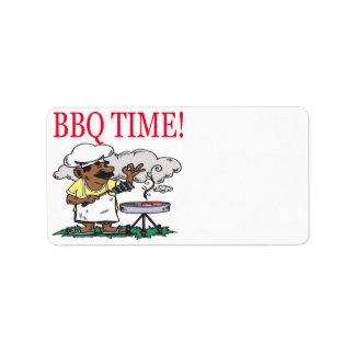 BBQの時間 ラベル