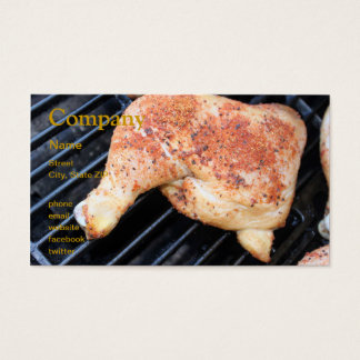 BBQの鶏 名刺