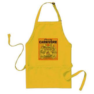 BBQ家族の肉食獣 スタンダードエプロン