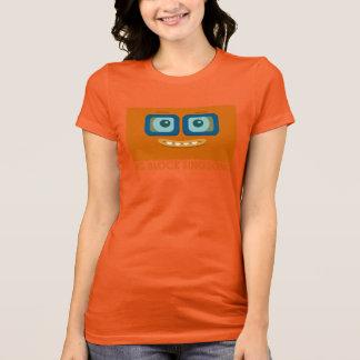 BBSSのおもしろいバンドオレンジ女性のTシャツ Tシャツ