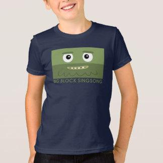 BBSSのおもしろいバンド青の子供のTシャツ Tシャツ