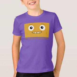 BBSSのおもしろいバンド黄色の子供のTシャツ Tシャツ