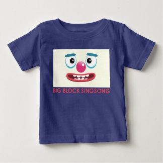 BBSSのピエロの赤ん坊のTシャツ ベビーTシャツ