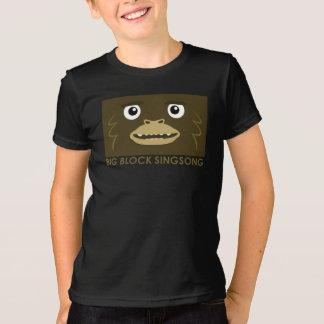 BBSSの大きい足の子供のTシャツ Tシャツ