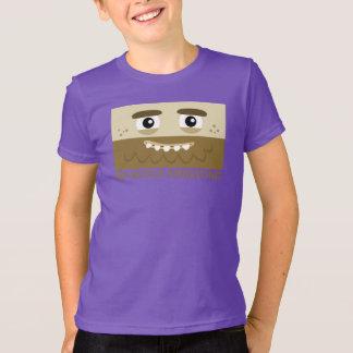 BBSSの穴居人の子供のTシャツ Tシャツ