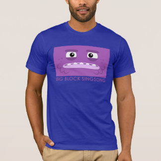 BBSSのLaのティーのDahの紫色の人のTシャツ Tシャツ