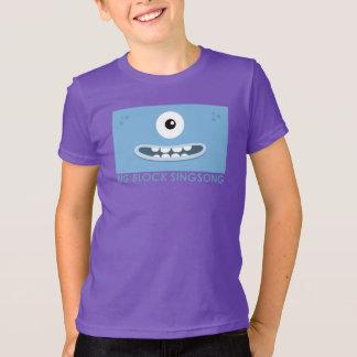 BBSSのLaのティーのDahの青の子供のTシャツ Tシャツ
