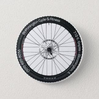 BC&Fの車輪ボタン 5.7CM 丸型バッジ