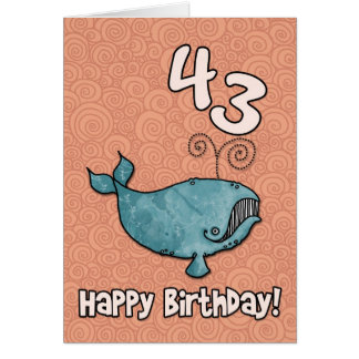 bdのクジラ- 43 カード