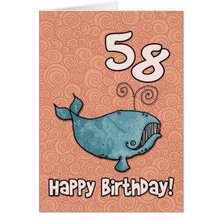 bdのクジラ- 58 カード