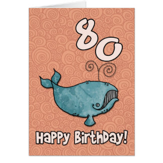 bdのクジラ- 80 カード