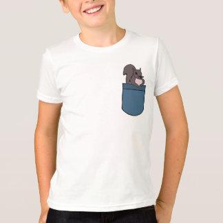 BD-小型のワイシャツのリス Tシャツ