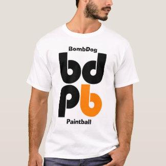 BDPBlogoのペイントボール、BombDog Tシャツ