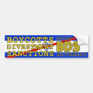 BDSの動きのボイコットイスラエル共和国を結合して下さい バンパーステッカー