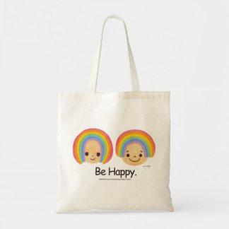 Be Happy トートバッグ
