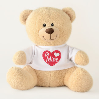Be Mine Valentine's Day Teddy Bear Stuffed Animal テディベア
