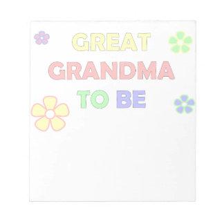 BE.pngへの曾祖母 ノートパッド