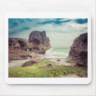beach03の石 マウスパッド
