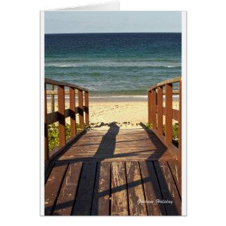 Beach.jpgへの細道 カード