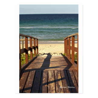 Beach.jpgへの細道 ポストカード