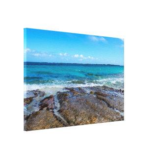 Beach&Oceanの熱帯海岸 キャンバスプリント