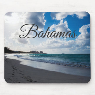 Beach Of The Bahamas マウスパッド