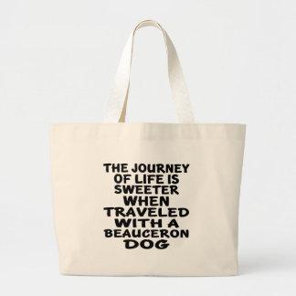 Beachfronの生命パートナーと走行される ラージトートバッグ