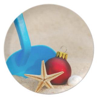 Beachyクリスマス プレート