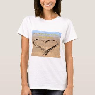 beachy愛ハート tシャツ