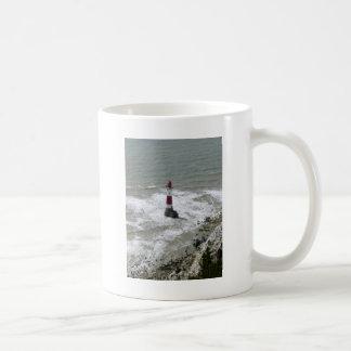 Beachy頭部、東のサセックスを離れた灯台 コーヒーマグカップ