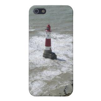 Beachy頭部、東のサセックスを離れた灯台 iPhone 5 Case