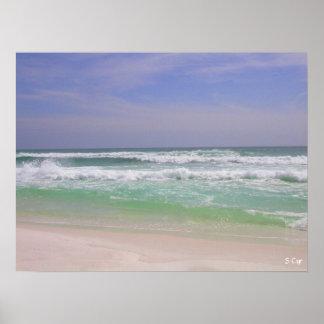 Beachy Destin、S Cyr ポスター