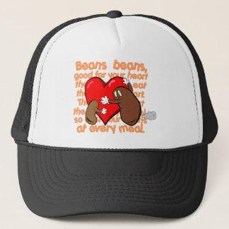 Bean_Heart_Poem キャップ