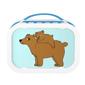 Bearおよびカブスママ ランチボックス