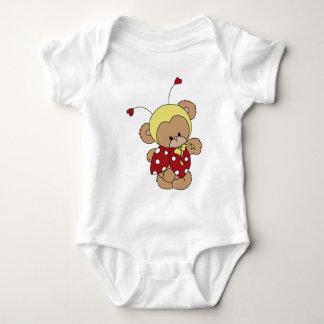 Bear女性 ベビーボディスーツ