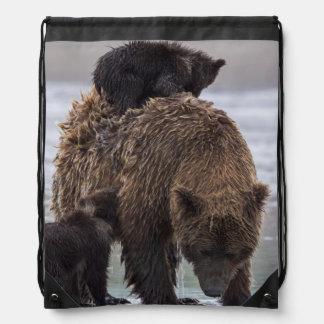 bear |湖のクラーク国立公園 ナップサック