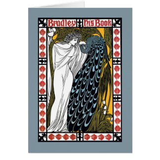 Beardleyの孔雀 カード