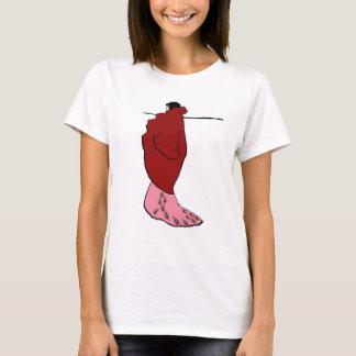 Beardsley -洗面所の女性 tシャツ