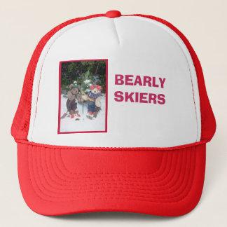 Bearlyのスキーヤー キャップ