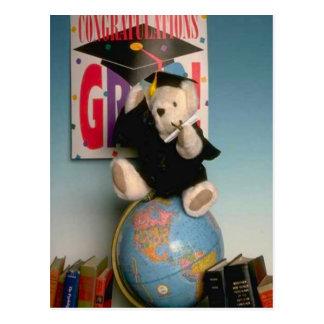 Bearly卒業生 ポストカード
