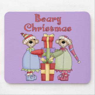Bearyのクリスマスプレゼント マウスパッド