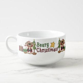 Bearyのクリスマス スープマグ