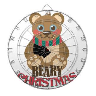 Bearyのクリスマス ダーツボード