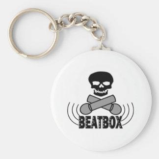 Beatboxのスカル及びCrossbone Mics キーホルダー