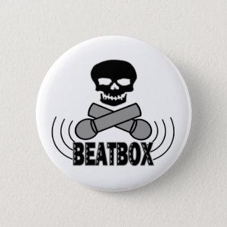 Beatbox 5.7cm 丸型バッジ