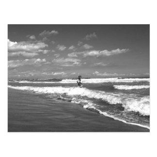 Beatrix at the beach - Postkarte ポストカード