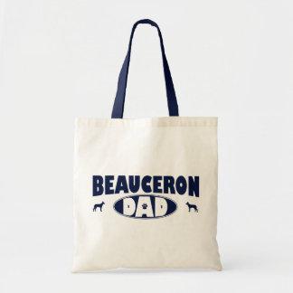 Beauceronのパパ トートバッグ