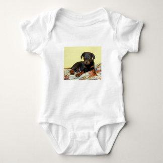 beauceronの子犬 ベビーボディスーツ