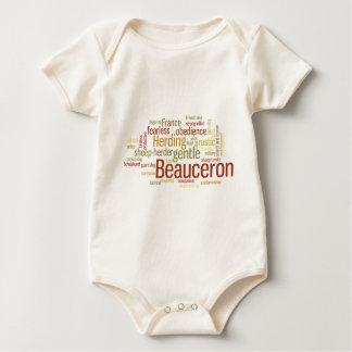 Beauceron ベビーボディスーツ