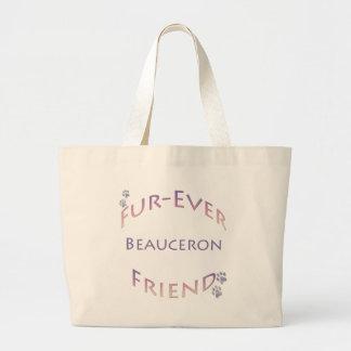 Beauceron Furever ラージトートバッグ